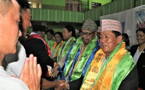 जनमुक्तिको छैठौं महाधिवेशनबाट  पालुङ्वा र सुर्यवंशी अध्यक्षमा  निर्वाचित ।